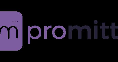 Promitto logo in purple